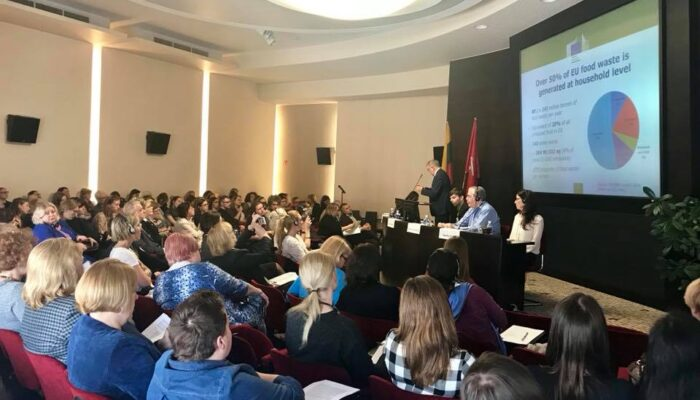 Conference Food Waste at Home & Ways to Address It in Vilnius