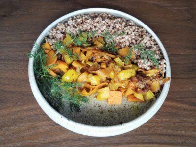 Grikiai su daržovėmis