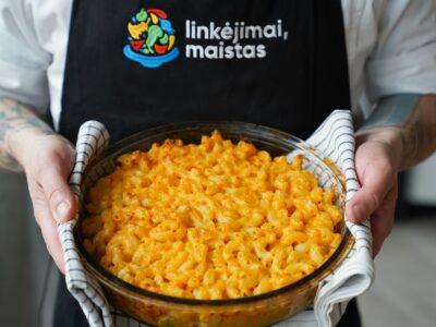 Makaronai su sūriu (mac & cheese)